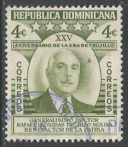 DOMINICAN REPUBLIC 463 VFU K420-5