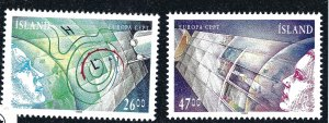 Iceland Attractive Sc#738-739 MNH VF SCV $19...nice bargain!!