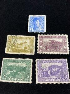Early Bosnia Wonderful Interesting Stamp Lot  #0121