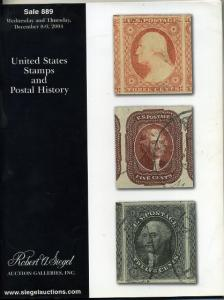 Siegel Sale of Choice US &Postal History