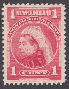 Newfoundland - #79 Queen Victoria, VF - MNH