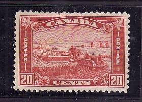 Canada-Sc#175-unused hinged 20c Harvesting- few short perfs top centre-id200-