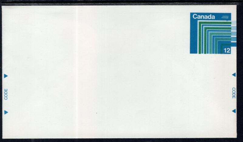 Canada Unitrade U106 Postal Envelope Unused VF