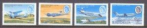 Rhodesia - Scott #241-244 - MNH - SCV $8.00