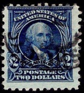 US Stamp #479 $2 Madison USED SCV $40.00