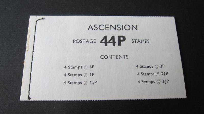 Booklet Ascension Island SG SB2a