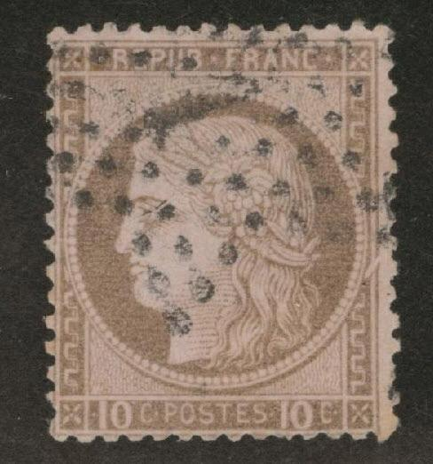 France Scott 60 2c Ceres 1872 used Large numbers