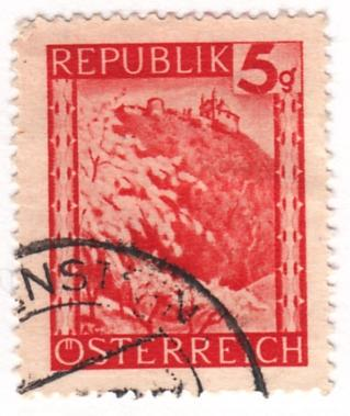 Austria, Scott # 457 (2), Used