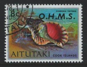 Aitutaki Sc#O6 Used