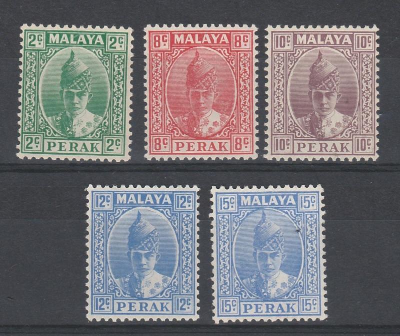 PERAK 1938 SULTAN RANGE TO 15C