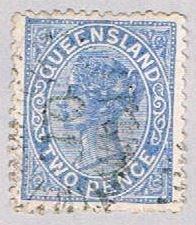 Queensland 58 Used Queen Victoria 1879 (BP51716)