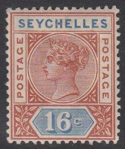 Seychelles 12 MVLH CV $16.00
