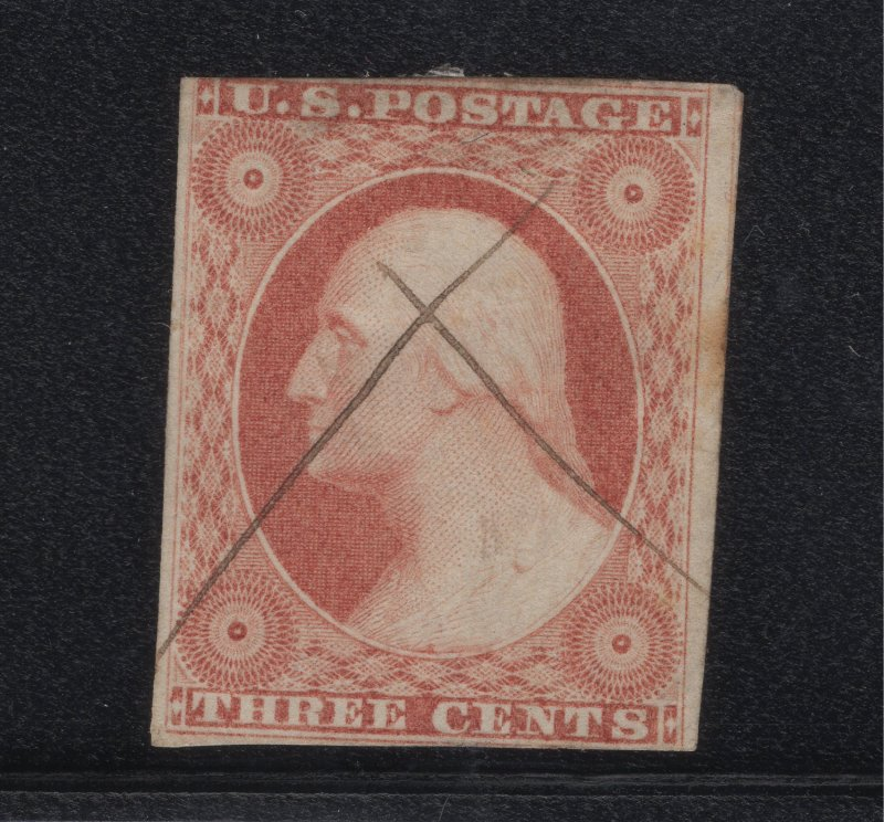 US Stamp Scott #11 Used SCV $15. FREE SHIPPING!