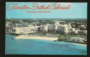 Bahamas 322 on Postmarked 1973 Nassau to USA Postcard Used