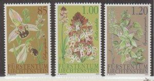 Liechtenstein Scott #1288-1289-1290 Stamps - Mint NH Set