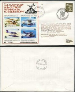 C89a 50th Ann Outright Winning of the Schneider Trophy Cover (A)