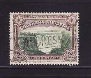 Southern Rhodesia 37 U Victoria Falls (A)