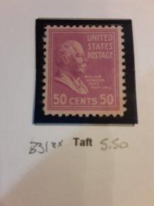 United States #831             MNH