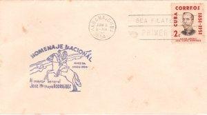 1954 Stamps Sc 529 Major General Jose Mayia Rodriguez FDC