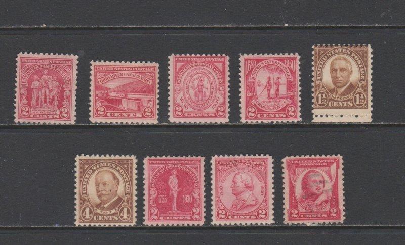 USA Postal Stamps