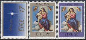 Ireland 603-5 MNH - Christmas 1984