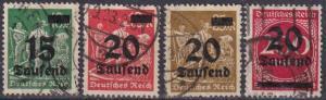 Germany #243-6 F-VF Used CV $8.00