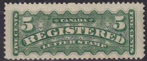 Canada #F2 F-VF  Unused  CV $140.00  (Z8042)
