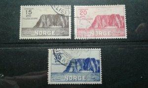 Norway #B1-3 used e203 7531