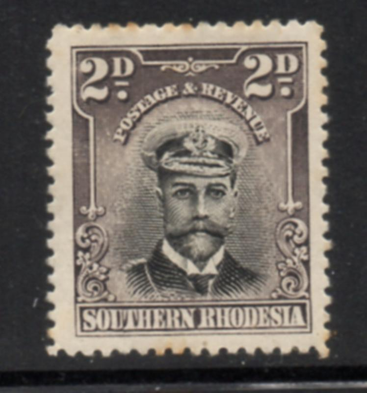 Southern Rhodesia Sc 76 4 1924 2 d George V stamp mint
