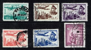 IRAN PERSIA AIR POST STAMP COLLECTION LOT