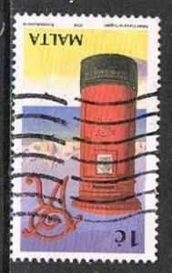 MALTA H19028- 2004 7c used single