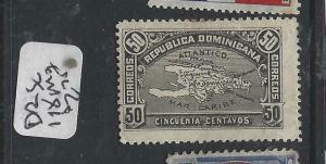 DOMINICAN REPUBLIC  (P0706B) MAP  50C  SC 118  MOG