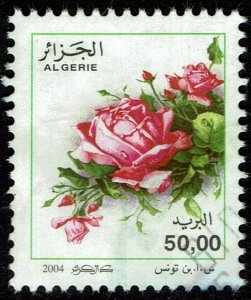 Algeria #1316  MNH - Flowers Roses (2004)