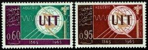 Algeria #339-40  MNH - ITU (1965)
