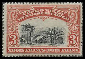 Belgian Congo 56 Mint VF LH