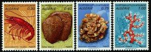Algeria #435-38  MNH - Marine Life (1970)