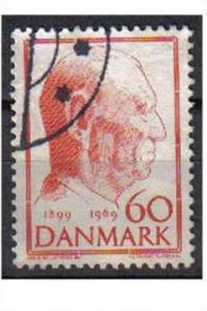 DENMARK, 1969, used 60ore.King Frederik's 70th Birthday.