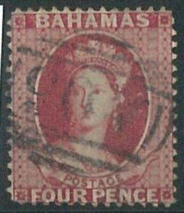 70320Da - BAHAMAS - STAMP: Stanley Gibbons #  43  -  Finely Used