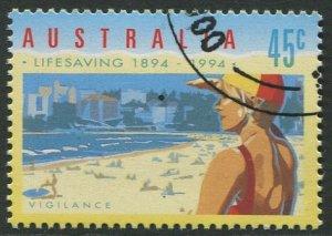 AUSTRALIA 1994 - 45c CTO/FULL GUM