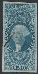 Scott #R78a imperf, Used, U.S. Internal Revenue Issues