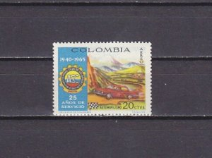 Colombia, Scott cat. C480. Race Car issue. ^