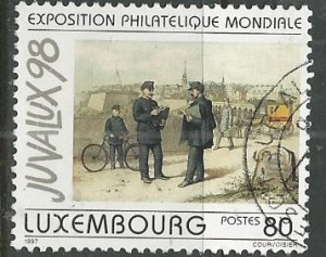 Luxembourg ---  Scott # 971 - Used