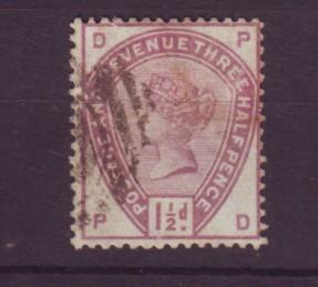 J19312 Jlstamps 1883 great britain used #99 queen