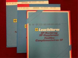 Belgium Hingeless Album Pages Leuchtturm Stamp Collecting 2003-2005