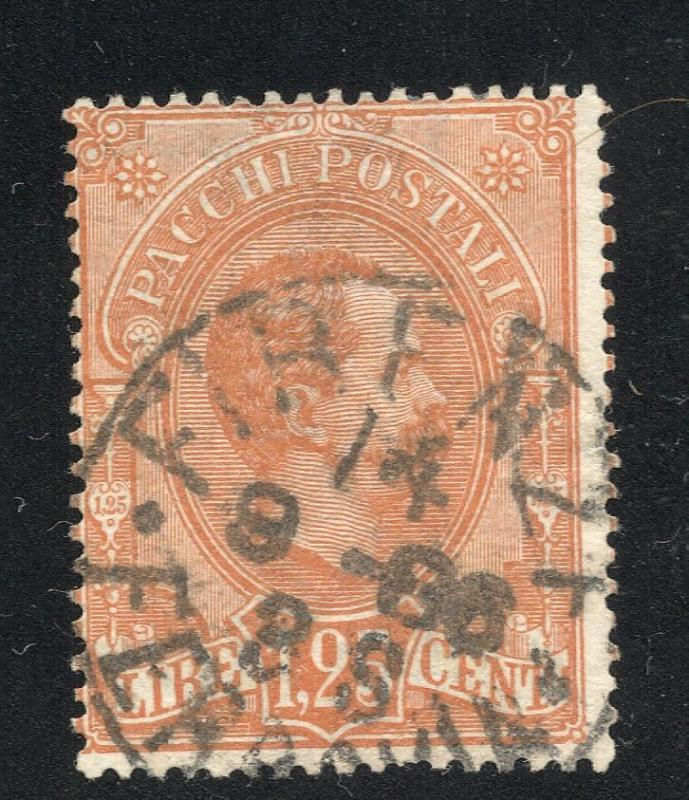 Italy #Q5 Orange - Parcel Post Stamp - Used