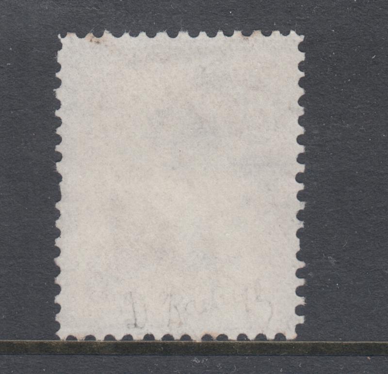 US Sc 67 used. 1861 5c buff Washington, red & black cancels, sound