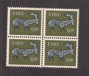IRELAND SC# 259 B/4   FVF/MOG 1969