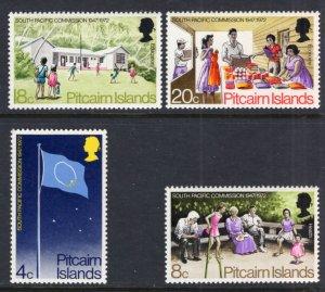 Pitcairn Islands 123-126 MNH VF