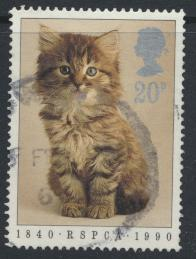 Great Britain SG 1479  Used   - RSPCA Animals