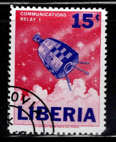 LIBERIA Scott 416 Used CTO stamp